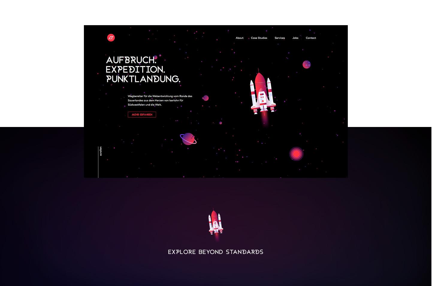 Webdesign // Coding Pioneers
