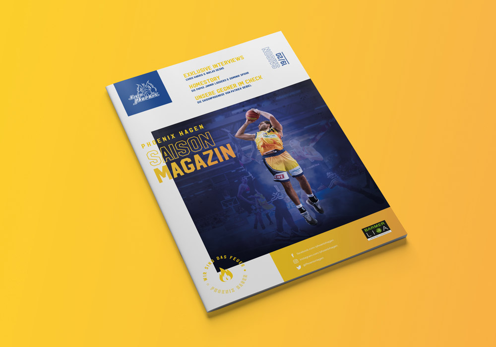 Phoenix Hagen Saisonmagazin 2019 / 2020