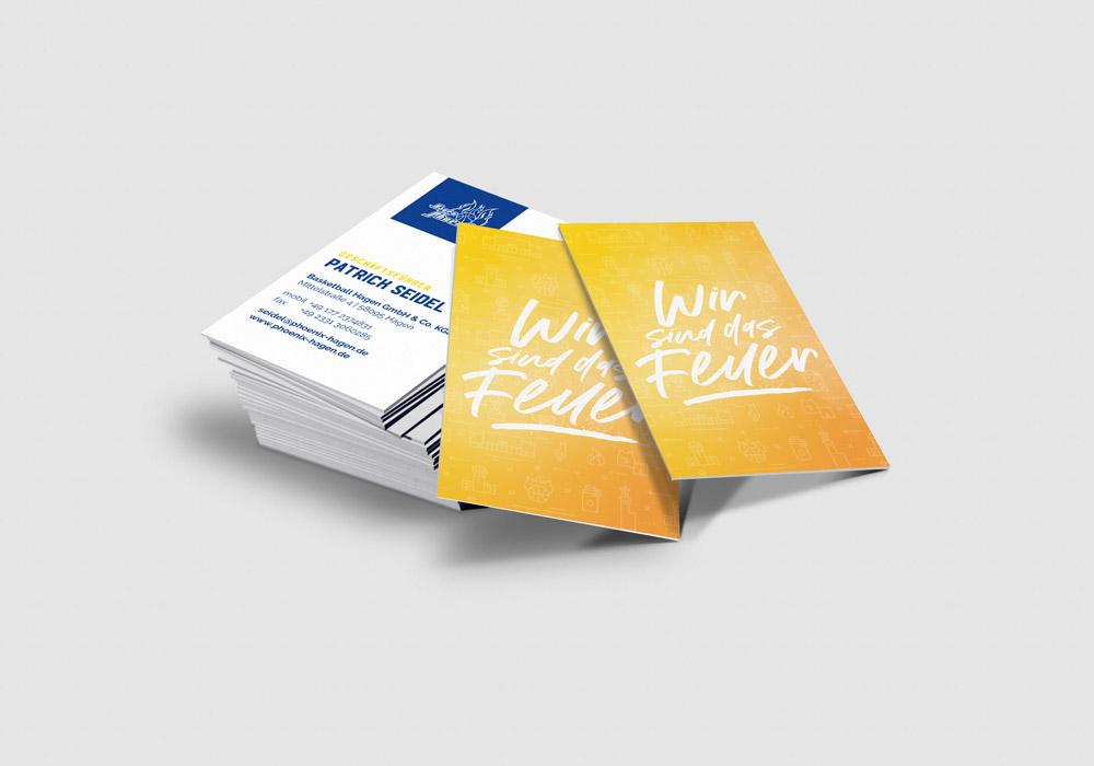 Phoenix-Hagen-Visitenkarten